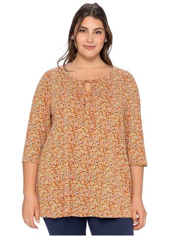 Sheego Shirt in kupferfarben