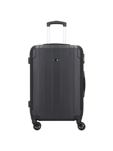 Travel Pal Brisbane 2.0 4-Rollen Trolley 66 cm mit Doppelrollen in schwarz