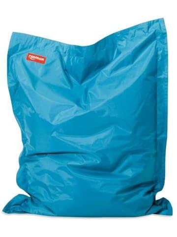 Roomox  Junior Sitzsack Original - Großer Sitzsack 130 x 100 x 30 cm , blau