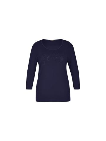VIA APPIA T-Shirts in marineblau