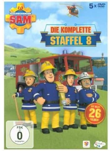 Justbridge Entertainment Germany Feuerwehrmann Sam. Staffel.8, 5 DVDs (ReRelease)