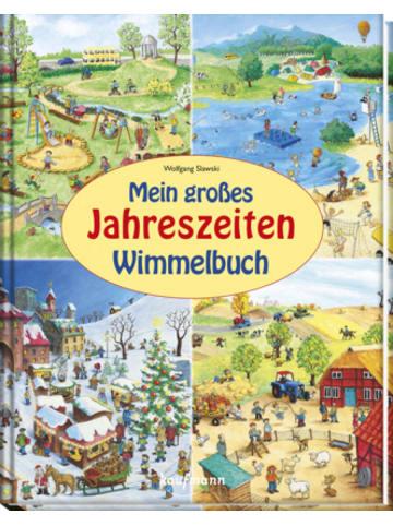 Kaufmann Mein großes Jahreszeiten-Wimmelbuch