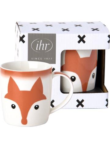 """IHR Ideal Home Range GmbH  Porzellanbecher """"ANIMAL FRIENDS"""" Fuchs in bunt 300 ml"""