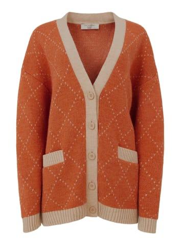 TOPTOP STUDIO Cardigan Cardigan in orange