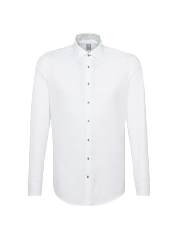 JACQUES BRITT Business Hemd Slim Fit in Weiß