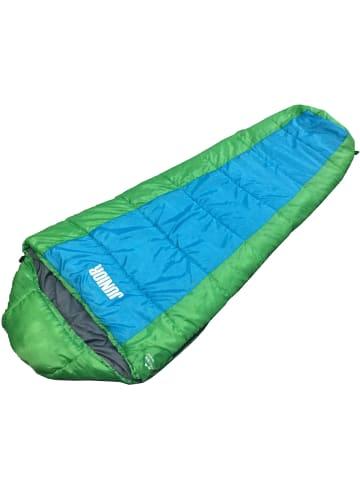 Explorer Kinderschlafsack Junior in Blau/grün