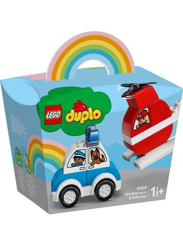 Duplo Creative Play 10957 Mein erster Feuerwehrhubschrauber und mein erstes Polizeiauto