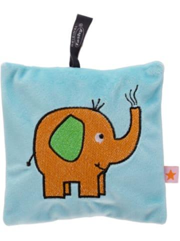 Fashy Wärmekissen mit Rapssamenfüllung, Elefant, blau