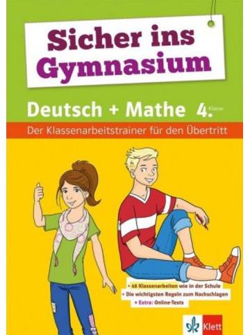 Klett Kinderbuch Sicher ins Gymnasium Deutsch und Mathematik 4. Klasse