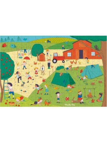 Moulin Roty Puzzle Auf dem Land, 150 Teile