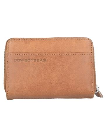 Cowboysbag Purse Haxby Geldbörse Leder 13,5 cm in tobacco