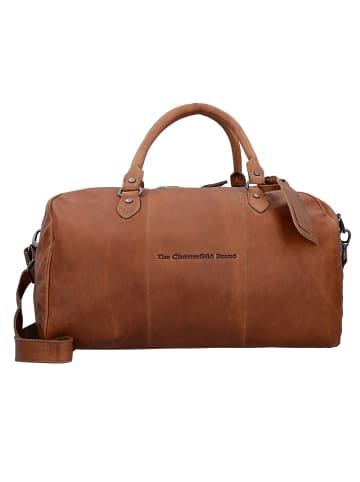 The Chesterfield Brand Wax Pull Up Liam Weekender Reisetasche Leder 46 cm in cognac