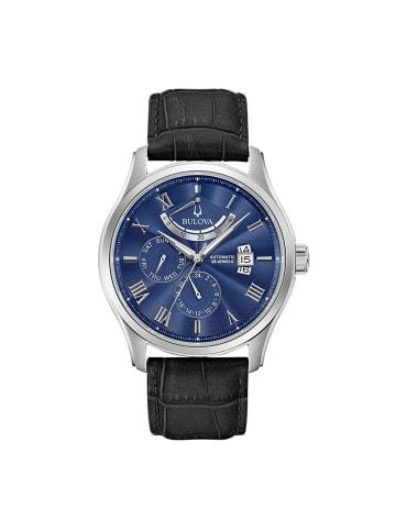 Bulova Multi Zifferblatt Uhr 'Classic Wilton' in Schwarz/Blau