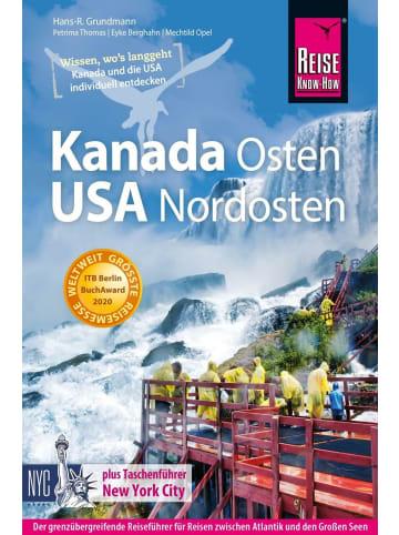 Reise Know-How Verlag Reise Know-How Reiseführer Kanada Osten / USA Nordosten