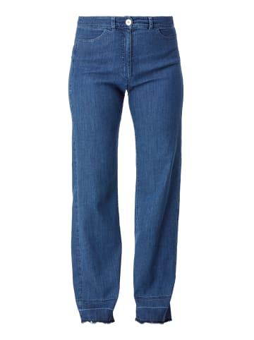 HELMIDGE Jeans Gerade Jeans in blau