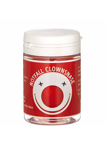 Butlers Notfall Clownsnase FIRST AID in rot