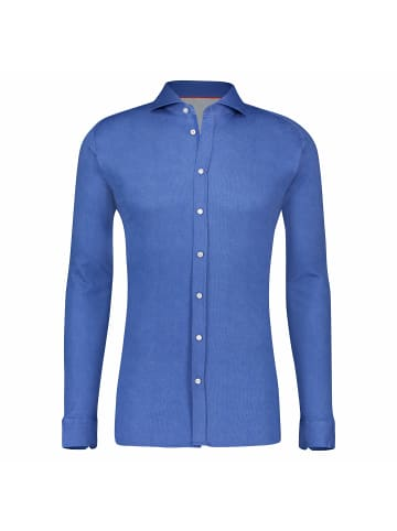 DESOTO Langarm Freizeithemd in blau