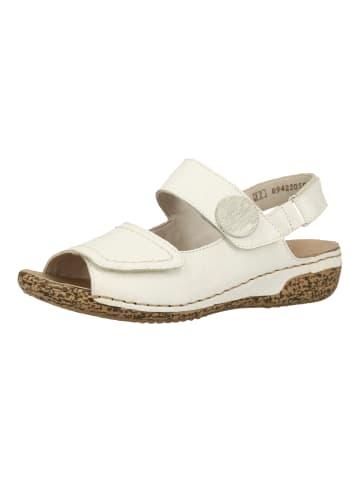 Rieker Sandalen in Weiß