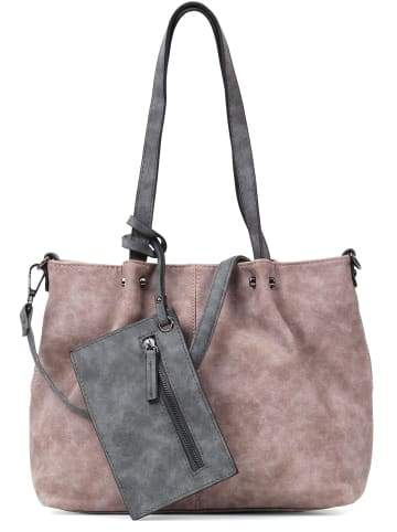 EMILY & NOAH Shopper Bag in Bag Surprise in rose lightgrey