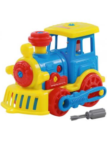 "POLESIE Konstruktionsfahrzeug ""Bau dir deine Lokomotive"""