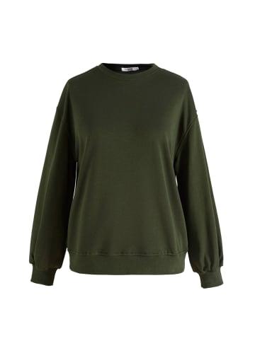Noella Langarm-Sweatshirt Tatum in army
