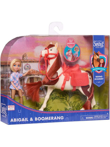 Just Play Spirit Sammelpuppe + Pferd - Abigail & Boomerang