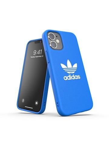 "Adidas Moulded Case ""Moulded Case Basic bluebird/white"" für iPhone 12 mini in blau"