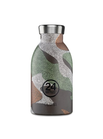 24Bottles Expedition Clima Trinkflasche 330 ml in camo zone