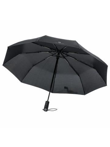 VON HEESEN Regenschirm in schwarz