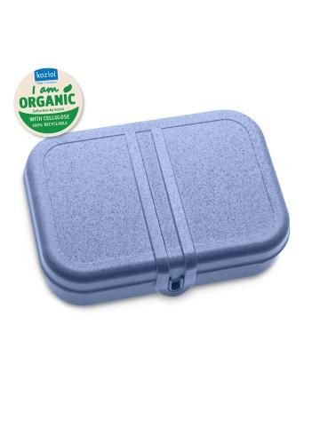 Koziol ORGANIC PASCAL L - Lunchbox mit Trennsteg in organic blue