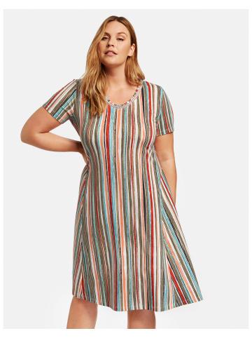 SAMOON Kleid Gewirke in Mehrfarbig
