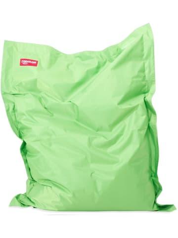 Roomox  Junior Sitzsack Original - Großer Sitzsack 130 x 100 x 30 cm , grün