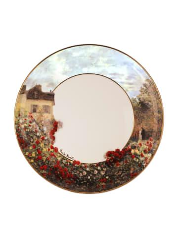 """Goebel Teller """" Claude Monet - Das Künstlerhaus """" in bunt"""