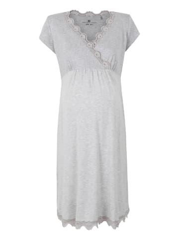 Bellybutton Umstands-Stillnachthemd Nightwear in agri melange