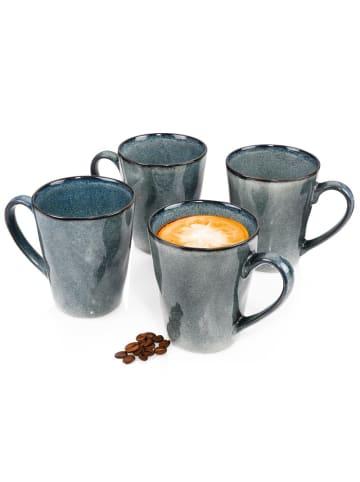Sänger 4-tlg. Kaffeebecher Set Darwin in Blau
