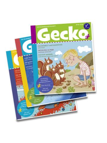 """Gecko Kinderzeitschrift Mini-Abo """"Gecko Kinderzeitschrift"""" - 3 Hefte"""