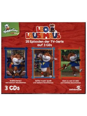 LEONINE Distribution Leo Lausemaus Hörspielbox. Box.2, 3 Audio-CD