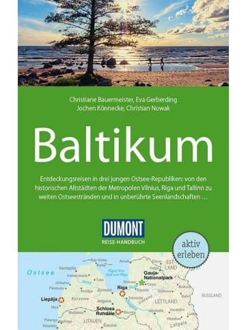 DuMont Kalenderverlag DuMont Reise-Handbuch Reiseführer Baltikum   mit Extra-Reisekarte