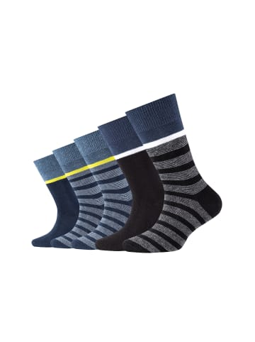 Camano Kinder Socken 5er-Pack in blue