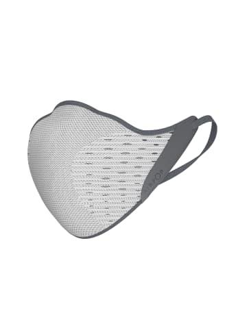 "AirPop Maske ""Active grey/white""  in grau"