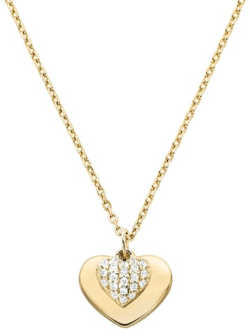 Michael Kors Damen-Halskette Love Gold