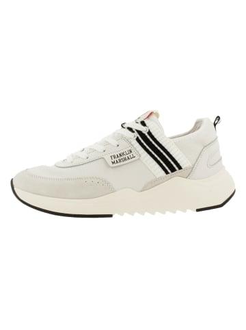 Franklin & Marshall Sneaker in WHT-BLK