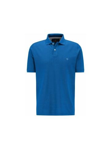 FYNCH-HATTON Poloshirt kurzarm in blau