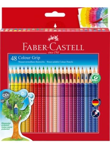 Faber-Castell Buntstifte COLOUR GRIP wasservermalbar, 48 Farben
