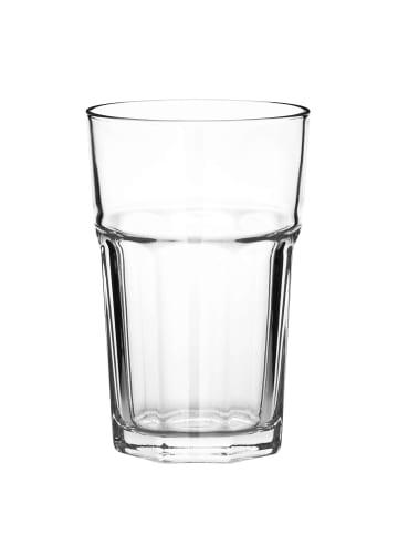 Butlers 6x Glas 360 ml GIBRALTAR in transparent