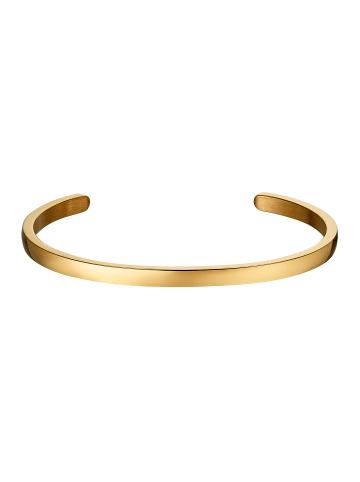 Steel_Art Armband Amplexus in Vergoldet