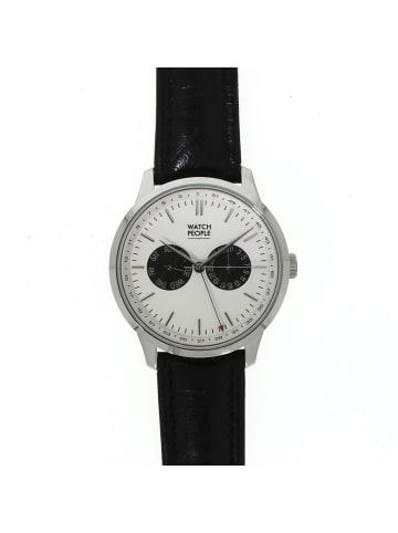 """WatchPeople Herrenuhr """"WP021"""" in schwarz und weiß"""