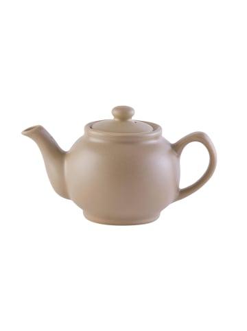 Price&Kensington Teekanne matt in taupe - 6 Tassen