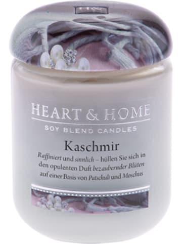 """HEART & HOME Kleine Duftkerze """"Kaschmir"""", 115 g"""