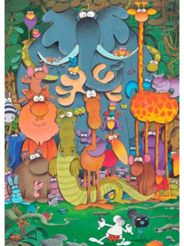 Heye Kalender Puzzle Mordillo, Photo, 1000 Teile